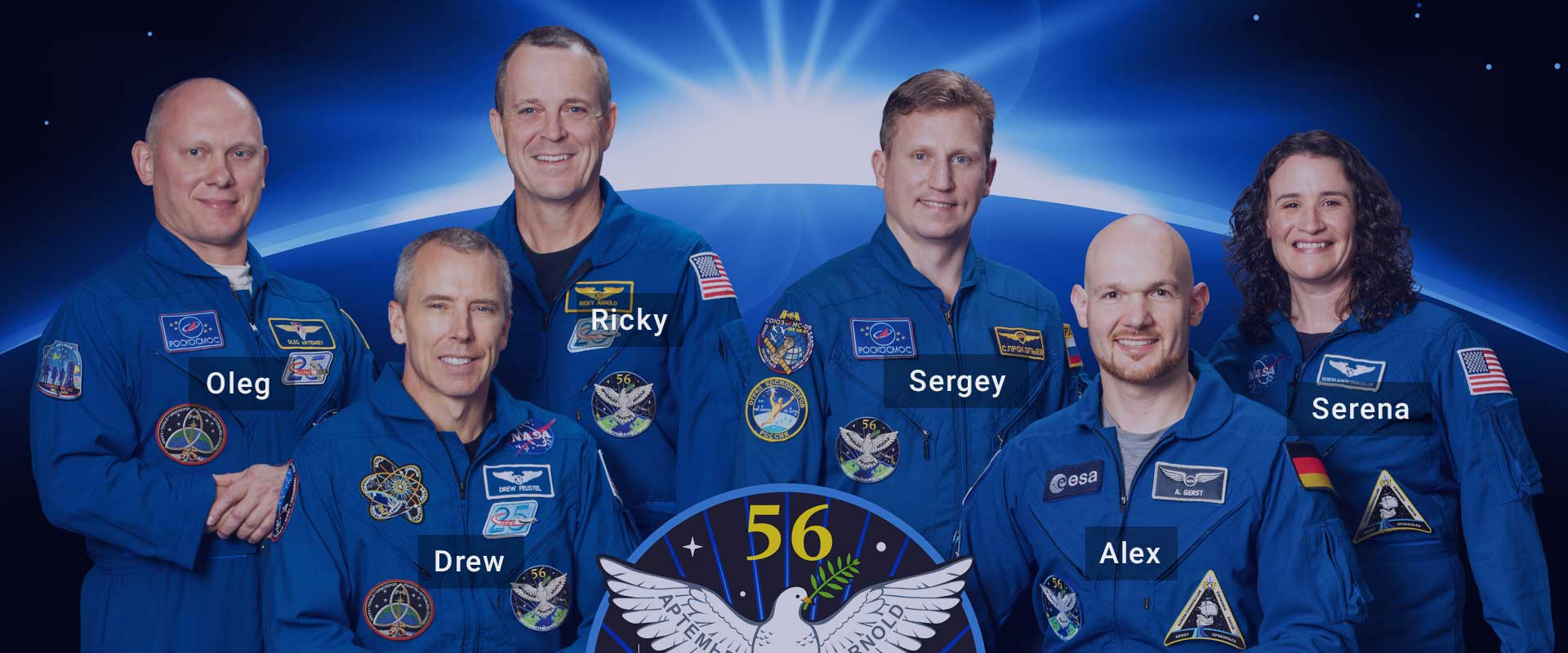 Crew of Expedition 56